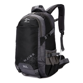 Ericdress Unisex Color Block Outdoor Hiking Backpack