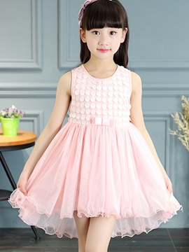 Ericdress Falbala Girls Dress