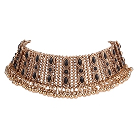 Ericdress Retro Exaggerated Alloy Choker Necklace