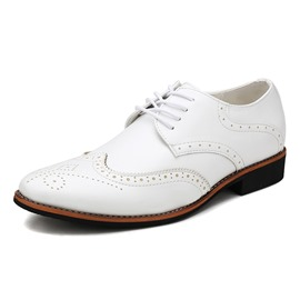 Ericdress Elegant PU Lace-Up Men's Oxfords