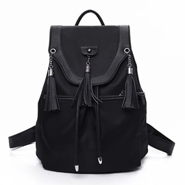 Ericdress Casual Waterproof Nylon Backpack