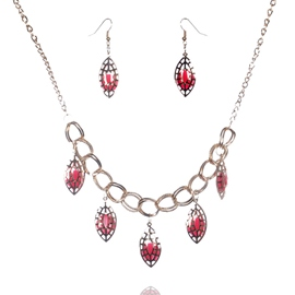 Ericdress Alloy Hollow Pendant Jewelry Set