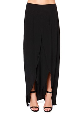 Ericdress Comfortable Chiffon Slit Pants