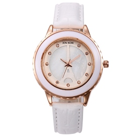 Ericdress Casual Tower Design Ladies Watch