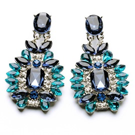 Ericdress Splendid Alloy Crystal Earrings