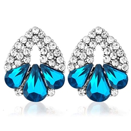 Ericdress Crystal Full Rhinestones Earrings