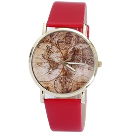 Ericdress World Map Scale Ladies Watch