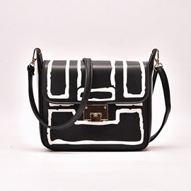 Ericdress Vintage Geometric Crossbody Bag
