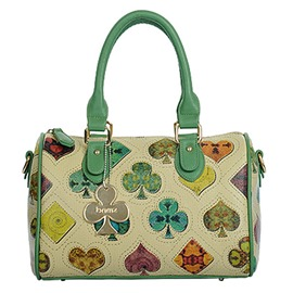 Ericdress Vintage Poker Card Print Handbag