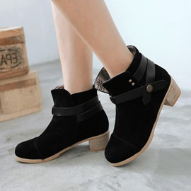 Ericdress Cool Buckles Ankle Boots
