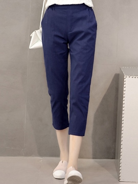 Ericdress Seven Points Casual Pants