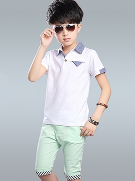 Ericdress Lapel Boys Outfit