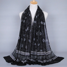 Ericdress Geometric Print Scarf For Women