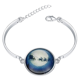 Ericdress Santa Claus Luminous Bracelet