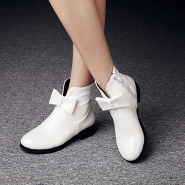 Ericdress Lovely Bowtie Ankle Boots