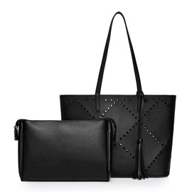 Ericdress Lastest Hollow Tassel Handbags(2 Bags)
