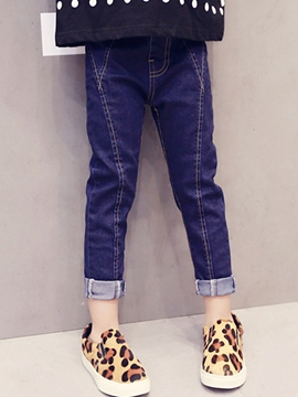 Ericdress Denim Girls Pants