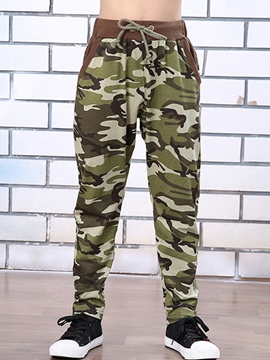 Ericdress Camouflage Boys Pants