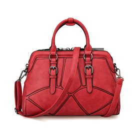 Ericdress Vogue Patchwork Handbag