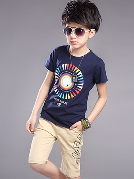 Ericdress Short Sleeve Boys Outfit