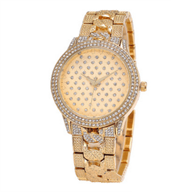 Ericdress Fully Diamante Alloy Ladies Watch