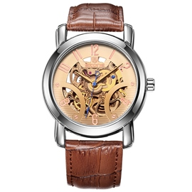 Ericdress Stainless Steel Mechanical Watch For Men