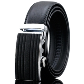 Ericdress Stripe Cowhide Men's Belt
