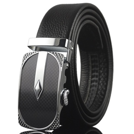Ericdress Geometric Embossed Men's Belt