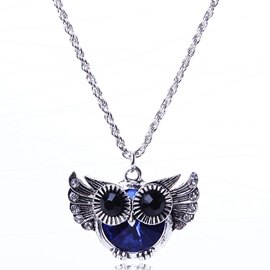 Ericdress Owl Pendant Necklace