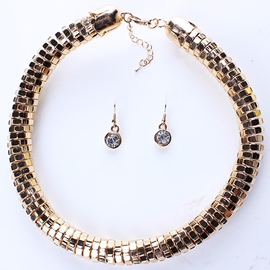 Ericdress Fashion Golden Chain Jewelry Set