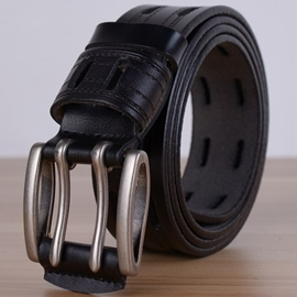 Ericdress Vogue Carving Men's Cowhide Belt