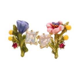 Ericdress Chic Flower Design Stud Earrings