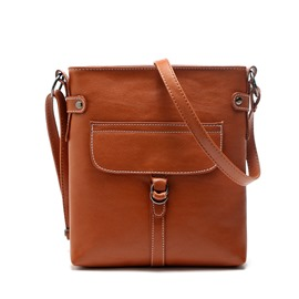 Ericdress Simple Belt Buckle Crossbody Bag