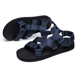Ericdress Open Toe Slingback Buckles Men's Sandals