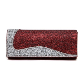 Ericdress Elegant Diamante Evening Clutch