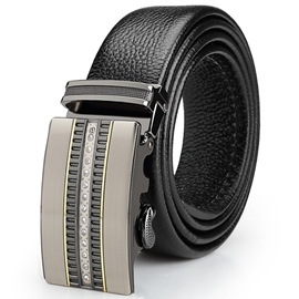 Ericdress Men's Patent Leather Automatic Belt