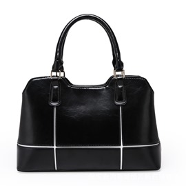 Ericdress Korean Patchwork Commute Handbag
