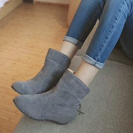 Ericdress Lovely Girl Suede Ankle Boots