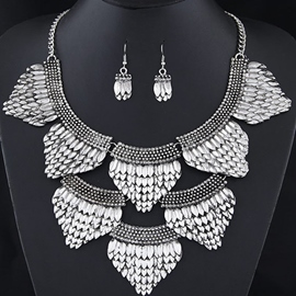 Ericdress Scale Design Jewelry Set