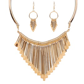 Ericdress Multilayer Tassels Jewelry Set