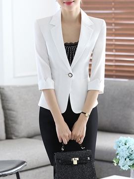 Ericdress OL Blazer Color Block Suit