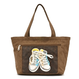 Ericdress Ladylike Shoes Embroidery Tote Bag