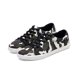 Ericdress Camouflage Lace up Men's Casual Shoes