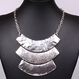 Ericdress Three Layers Alloy Pendant Necklace