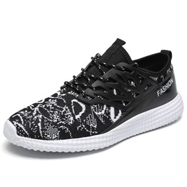 Ericdress Fashion Contrast Color Lace-Up Men's Sneakers