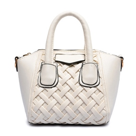 Ericdress Trendy Knitted Smile Handbag