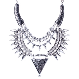 Ericdress Rivets Design Punk Style Necklace