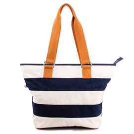 Ericdress Casual Stripe Tote Bag