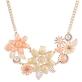 Ericdress Splendid Flowers Pendant Necklace