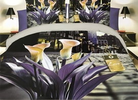 Ericdress Calla Lily Print 3D Bedding Sets